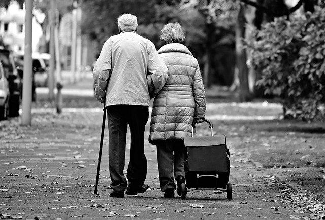 Couple de plus de 50 ans.